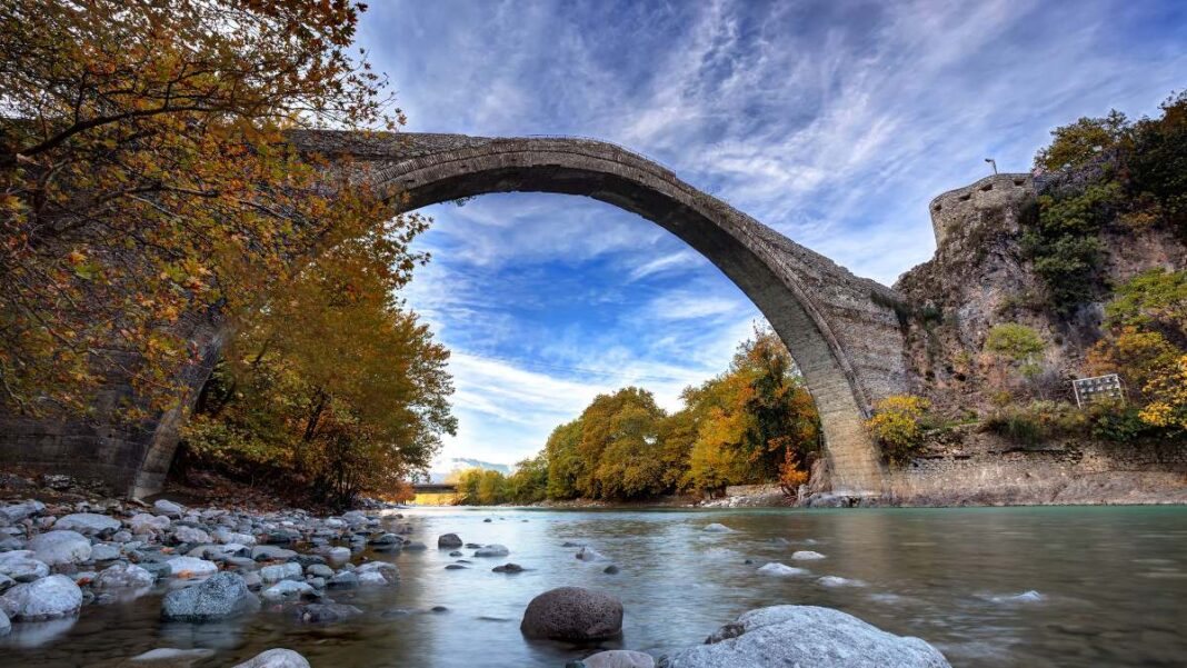 Ορεινά τοπία Ελλάδα, Γεφύρι Κόνιτσας