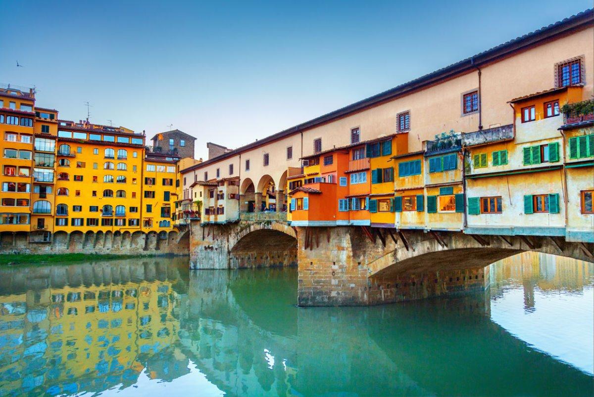 ιστορική γέφυρα Ponte Vecchio Φλωρεντία
