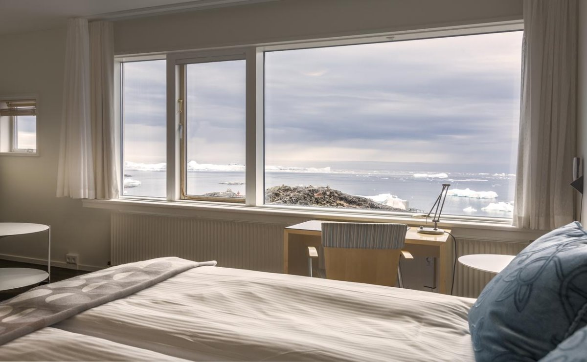 Hotel Arctic, Γροιλανδία δωμάτιο με θέα στους πάγους
