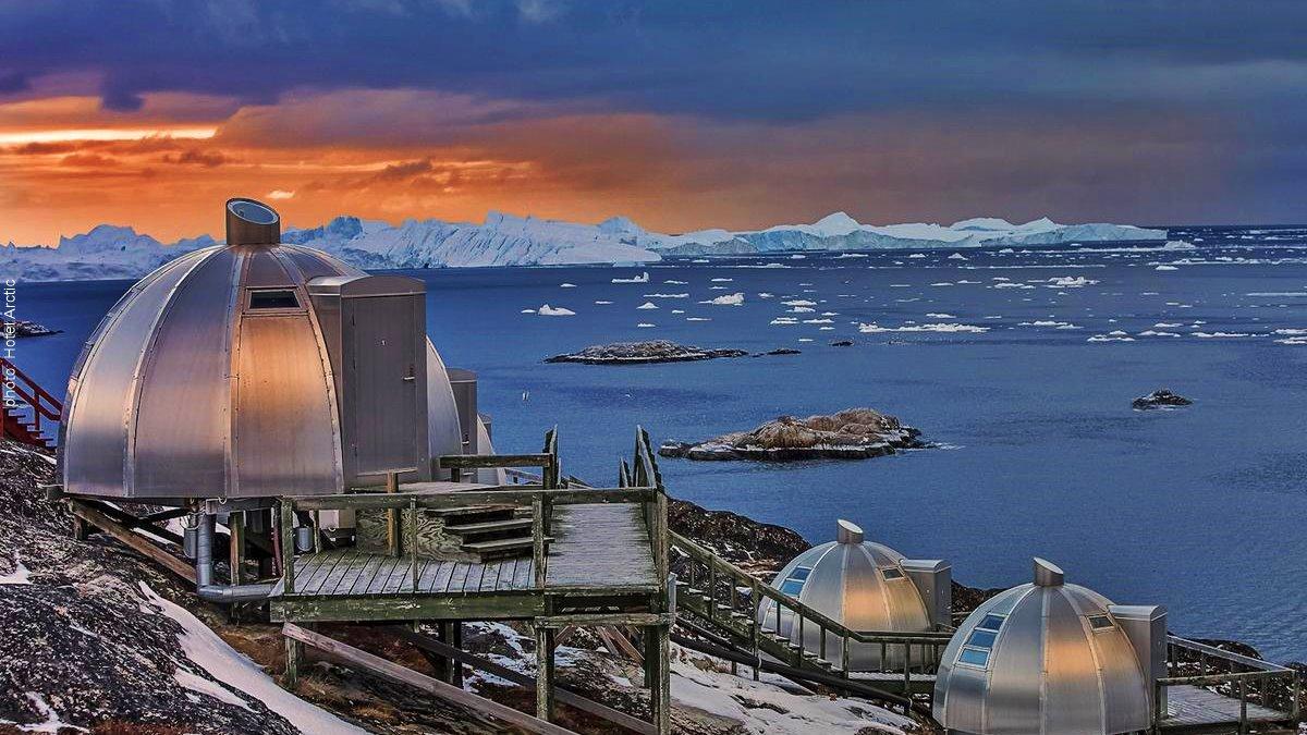 Hotel Arctic, Γροιλανδία με θέα στους πάγους