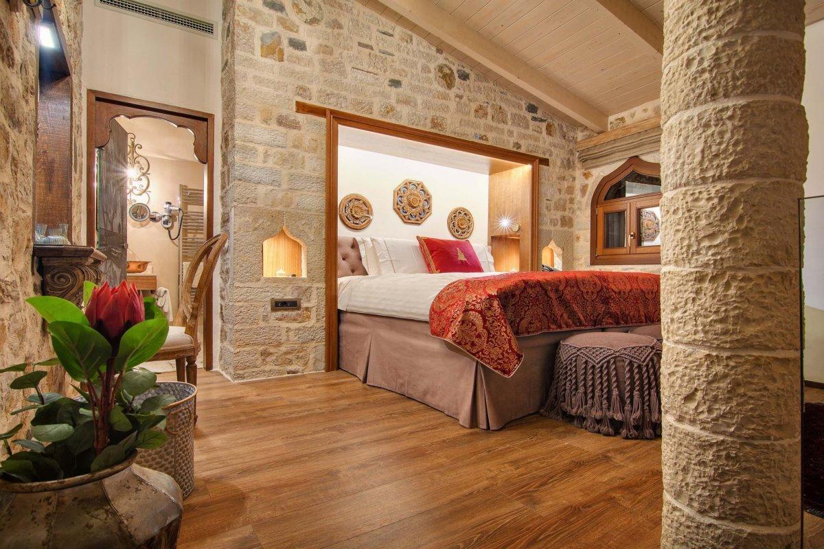 Kamares Boutique Hotel Ιωάννινα δωμάτια με πολυτελείς λεπτομέρειες