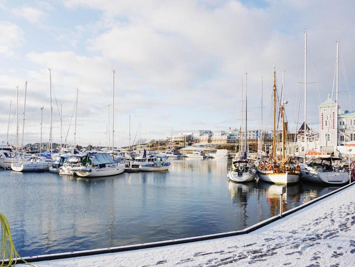 Χιονισμένα νησιά στον κόσμο Koster