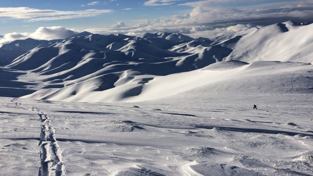 Λευκά Όρη χιονισμένα