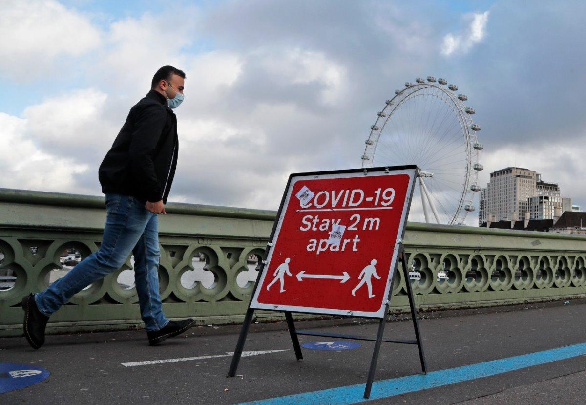 Λονδίνο lockdown απαγορεύσεις μετακίνησης
