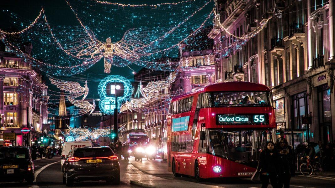 Λονδίνο Χριστούγεννα lockdown