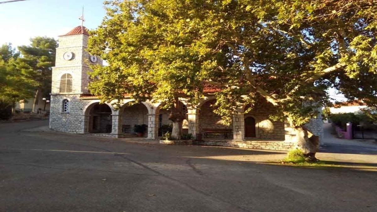 μαγγανιακό χωριό μεσσηνίας πέτρινη εκκλησία