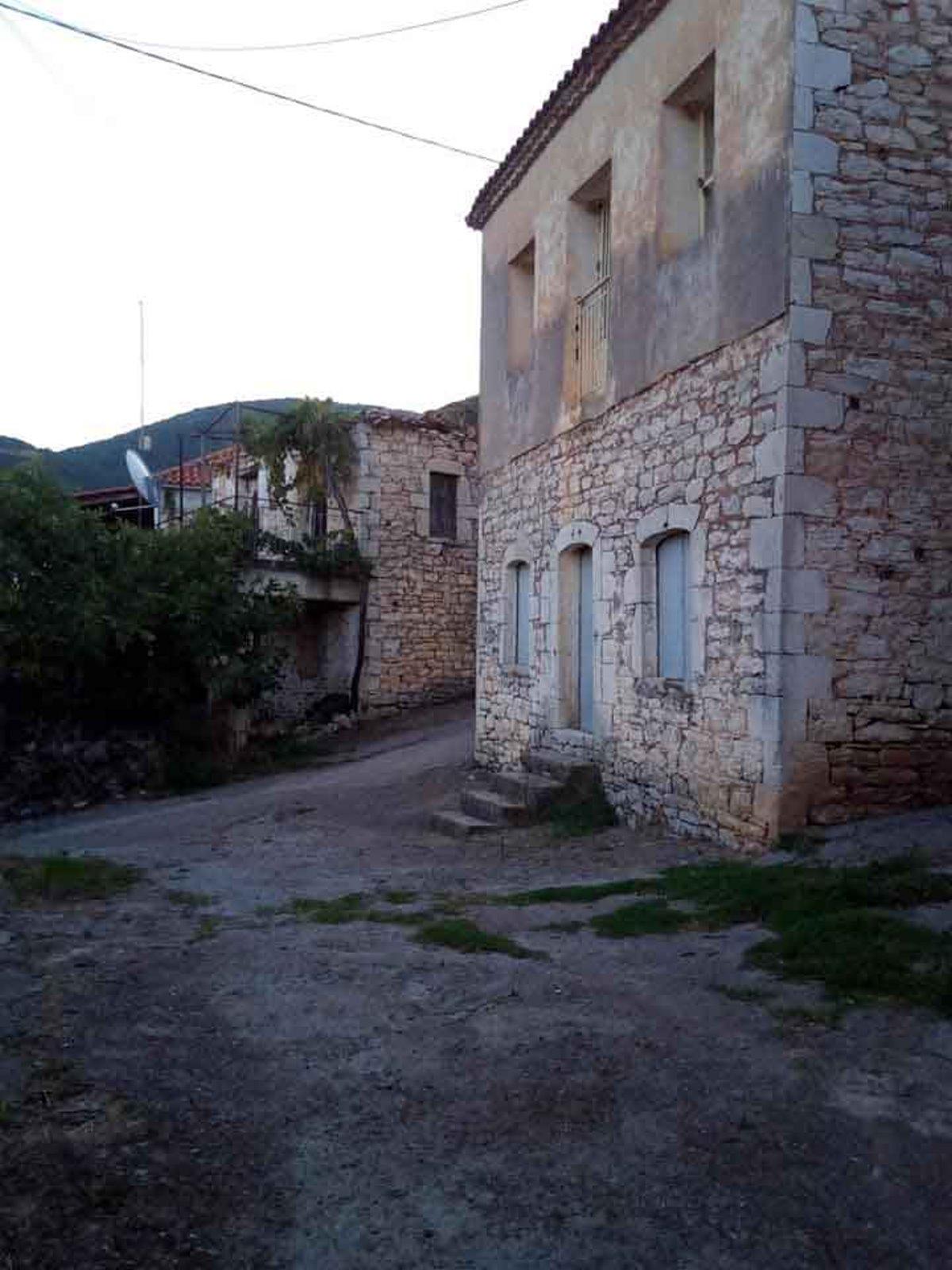 Μαγγανιακό χωριό μεσσηνίας πέτρινο