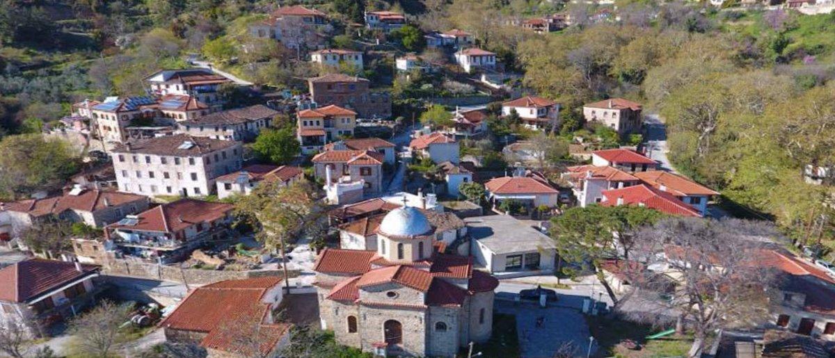 Μεταξοχώρι Θεσσαλίας πανοραμική άποψη