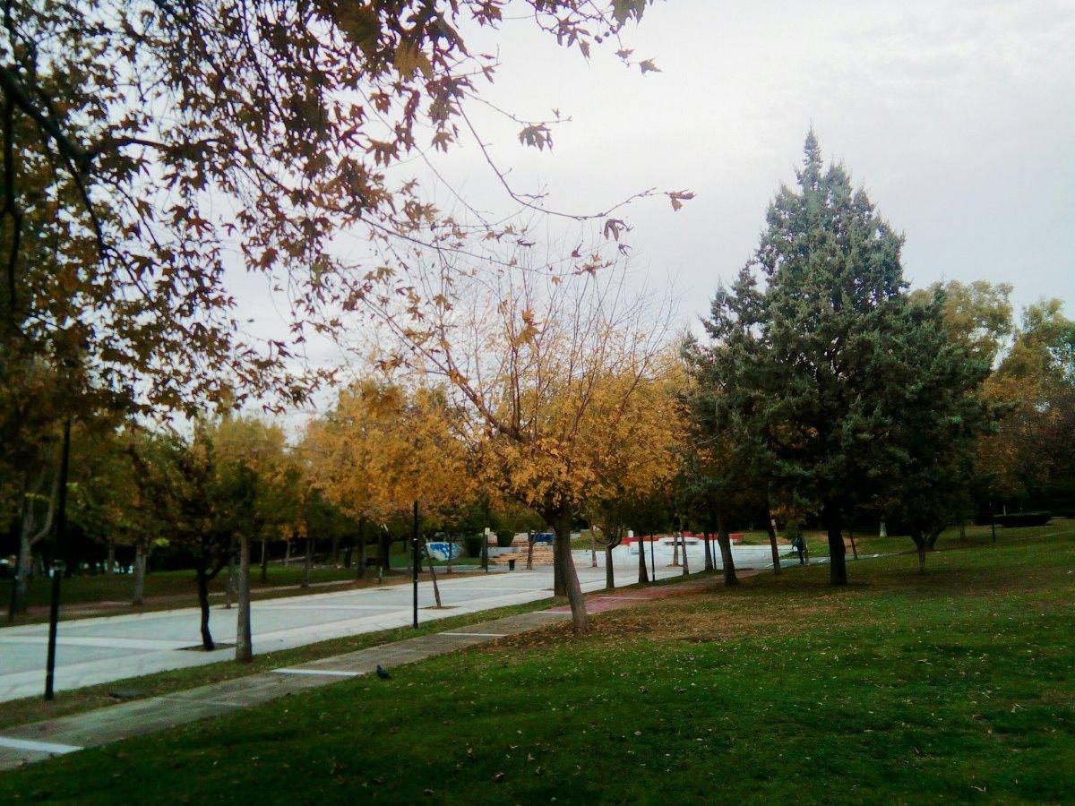 Άλσος Αιγάλεω Μπαρουτάδικο γεμάτο δέντρα