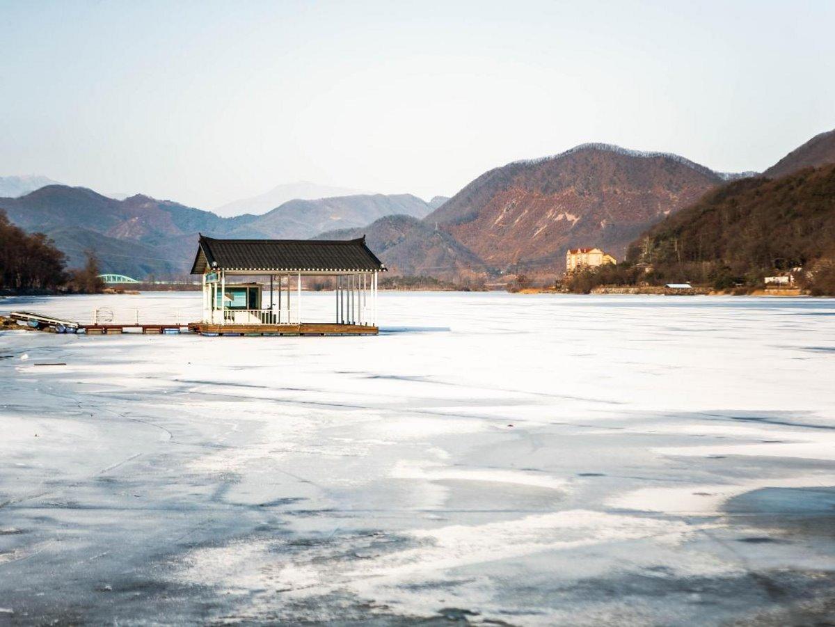 Χιονισμένα νησιά στον κόσμο Namiseom