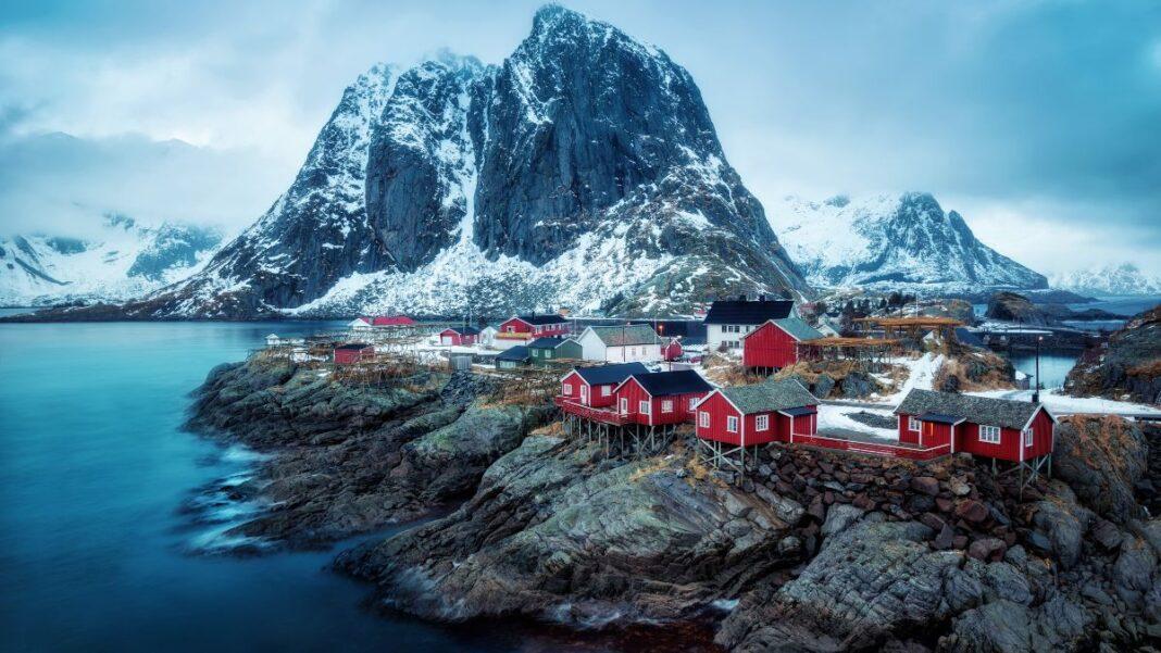 το ομορφότερο χωριό της Νορβηγίας