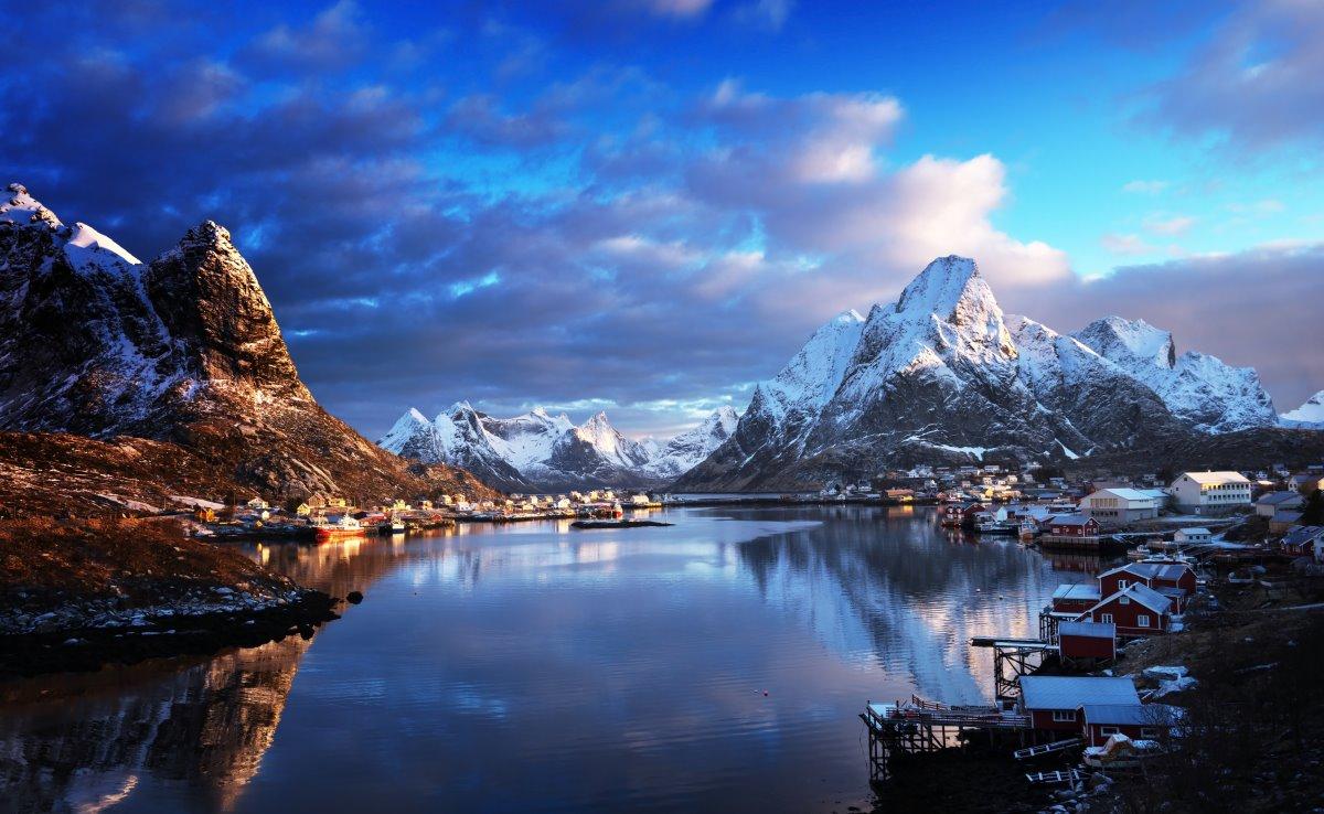 Reine, Νορβηγία