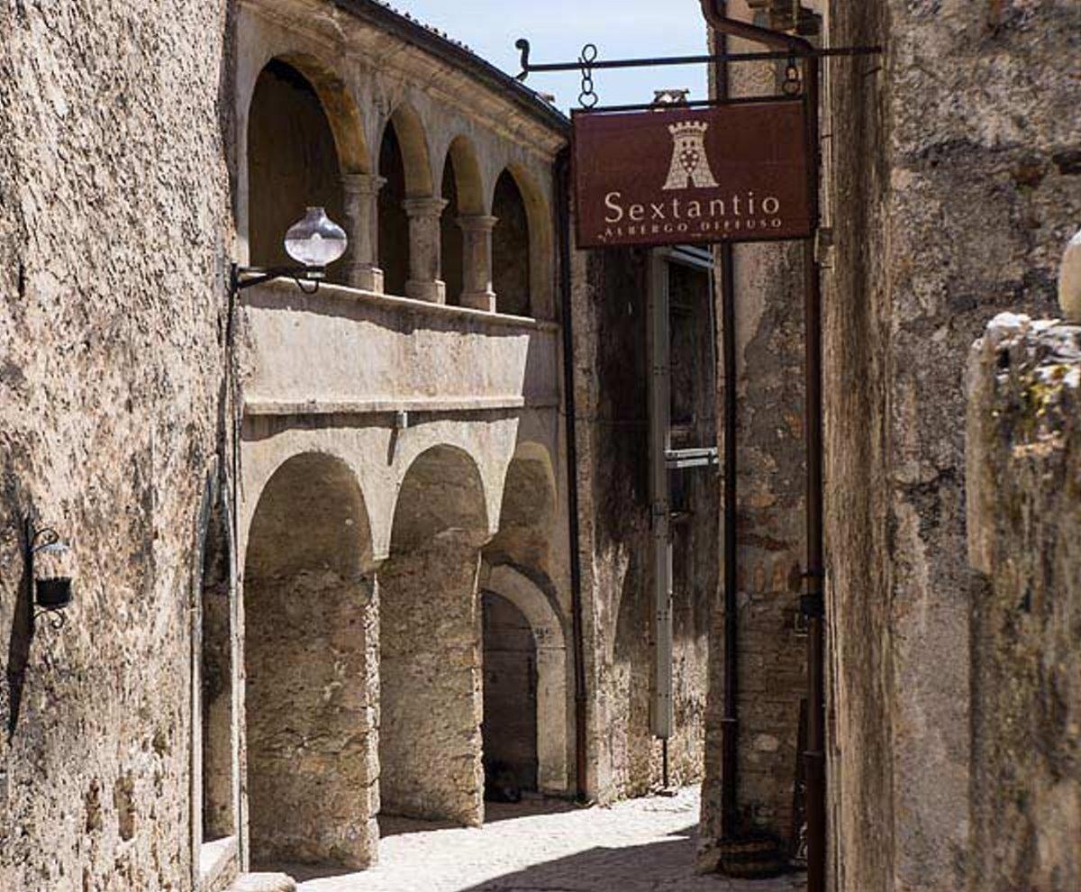 albergo diffuso νέο μοντέλο διαμονής στο ιταλικό Sextanio