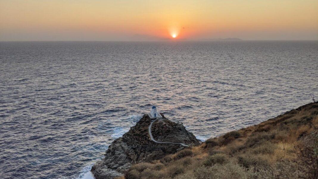 Σίφνος ηλιοβασίλεμα