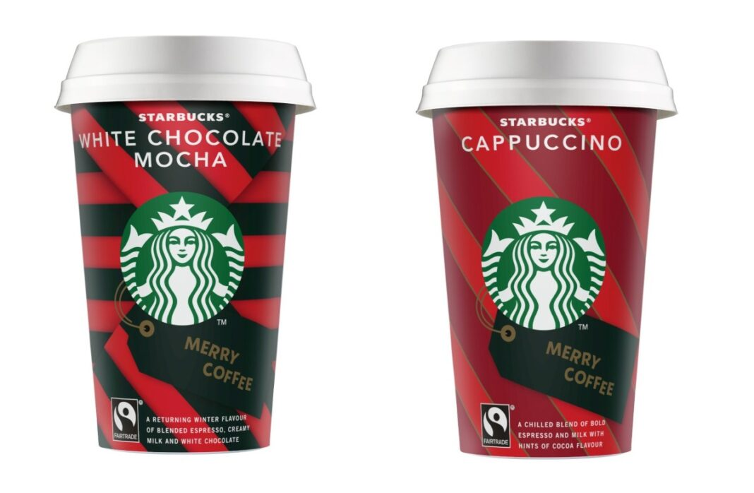 Starbucks ροφήματα Χριστουγέννων
