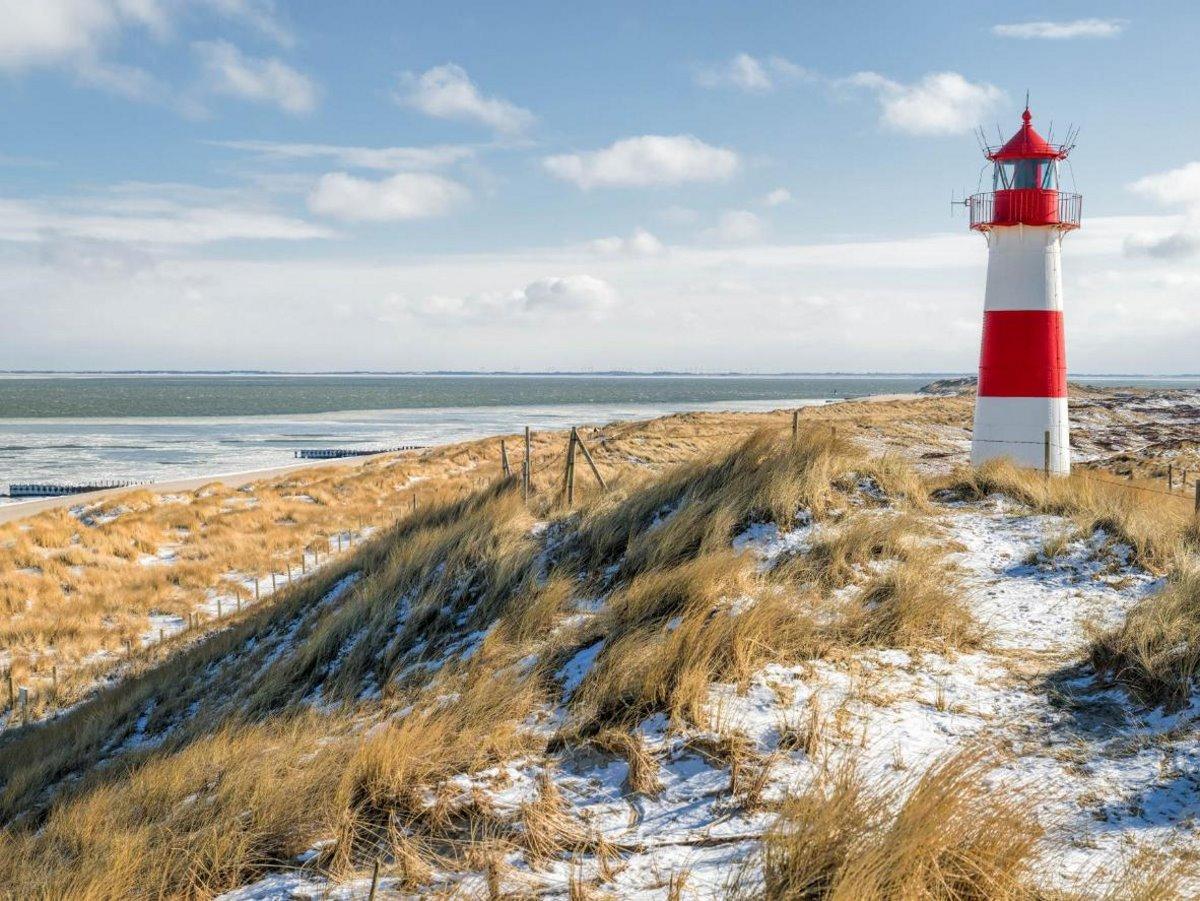 Χιονισμένα νησιά στον κόσμο Sylt