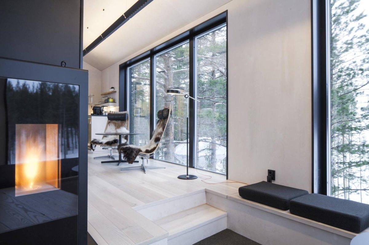 Tree Hotel, Σουηδία δωμάτιο