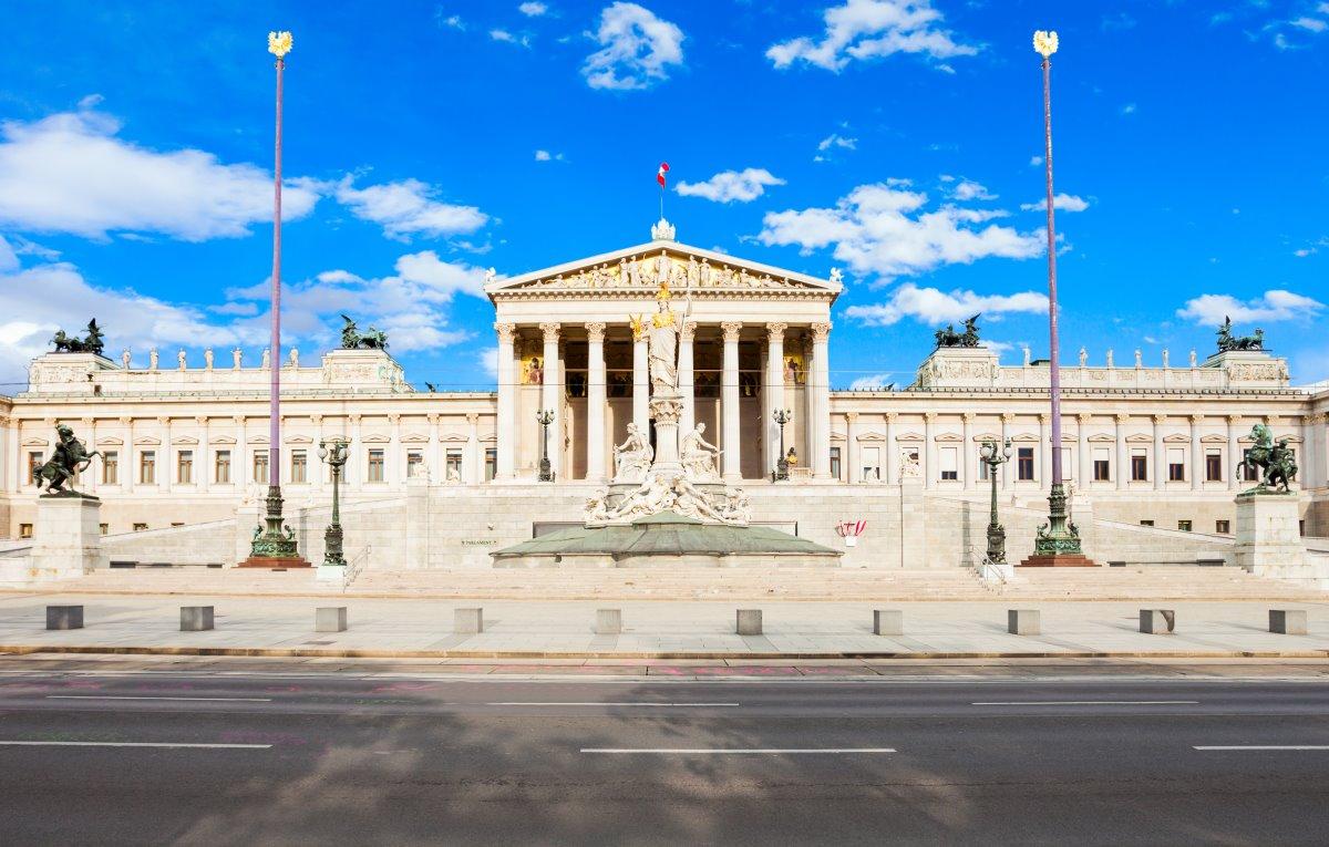 Το κοινοβούλιο, λεωφόρος  Ringstrasse