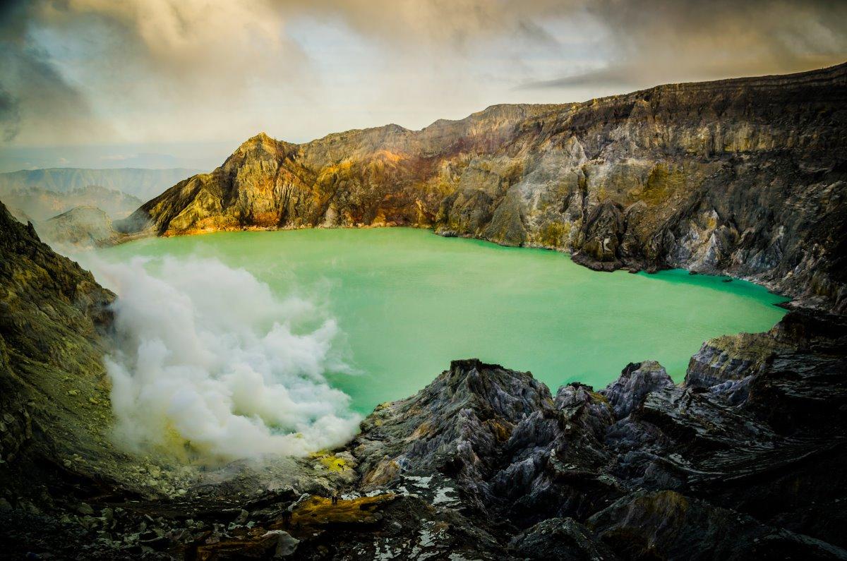 Λίμνη Ijen, Ινδονησία