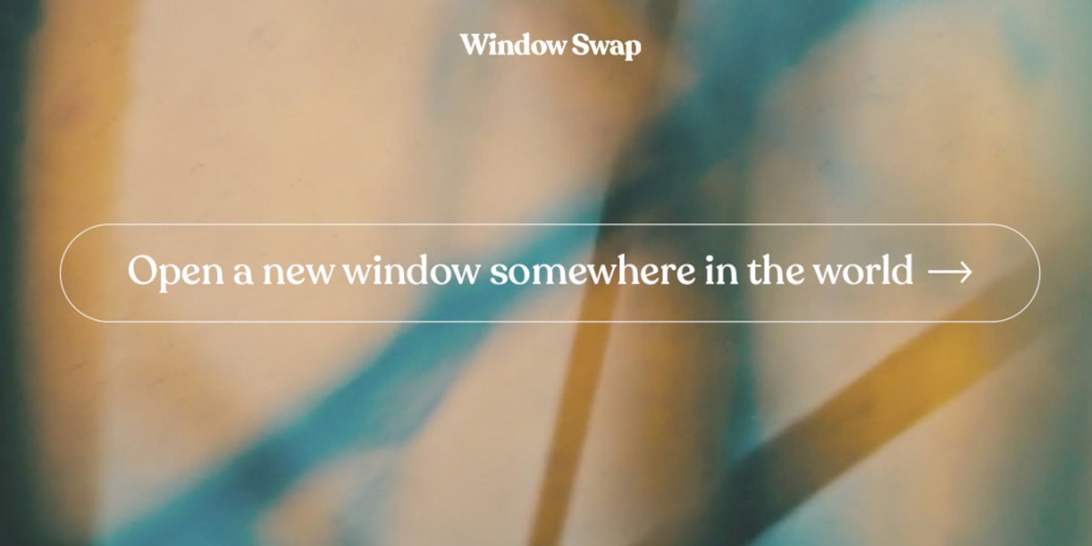 WindowSwap θέα από παράθυρα στον κόσμο εφαρμογή