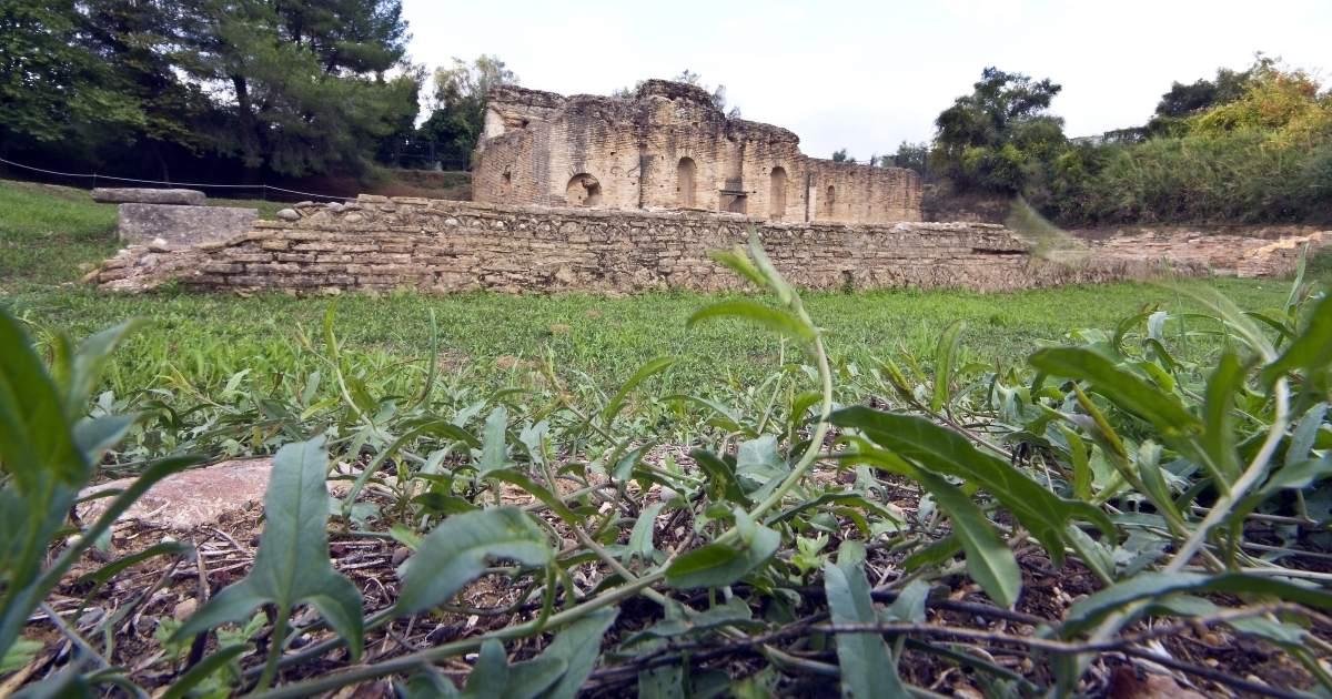 Εργαστήριο Φειδία, Αρχαία Ολυμπία