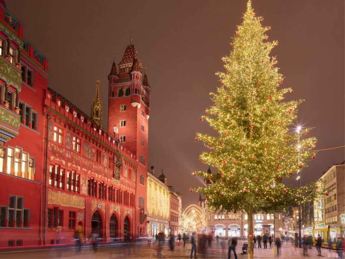 Χριστουγεννιάτικο δέντρο Ελβετία