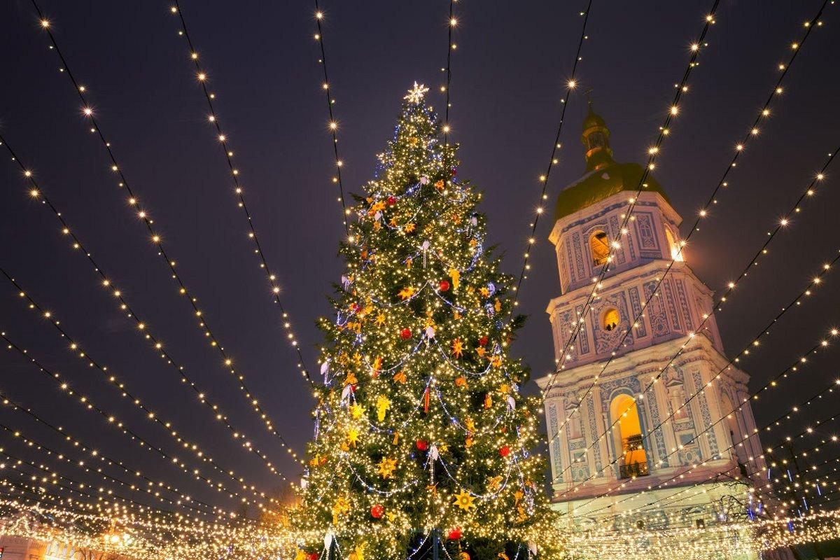 χριστουγεννιάτικο δέντρο Ουκρανία