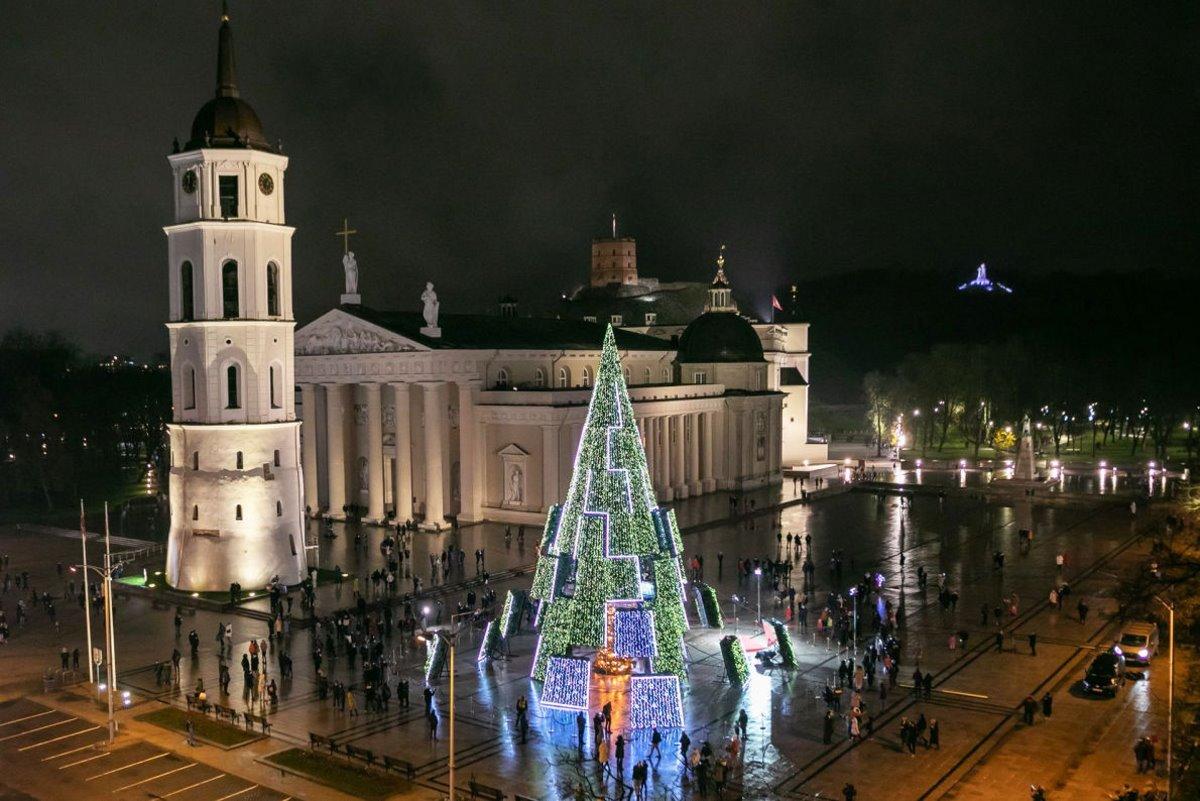 χριστουγεννιάτικο δέντρο Λιθουανία