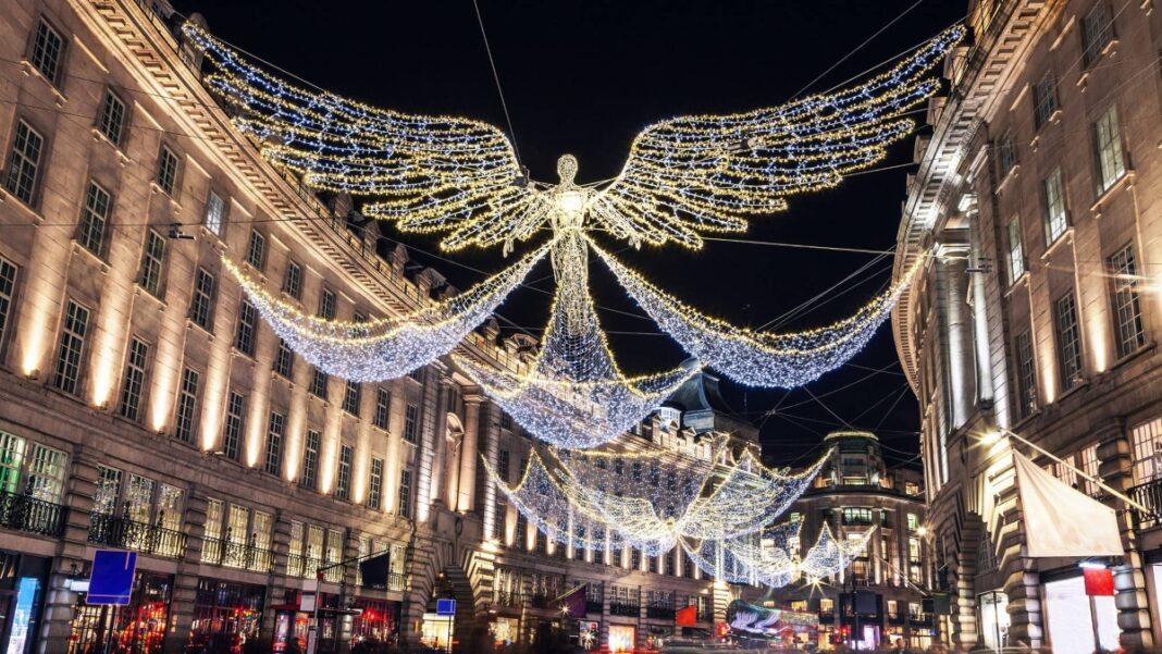 Λονδίνο χριστουγεννιάτικος στολισμός 2020