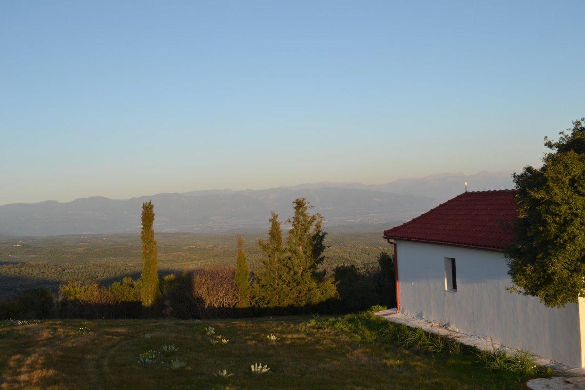 εκκλησάκι στο χωριό Χορεύτρα Μεσσηνίας