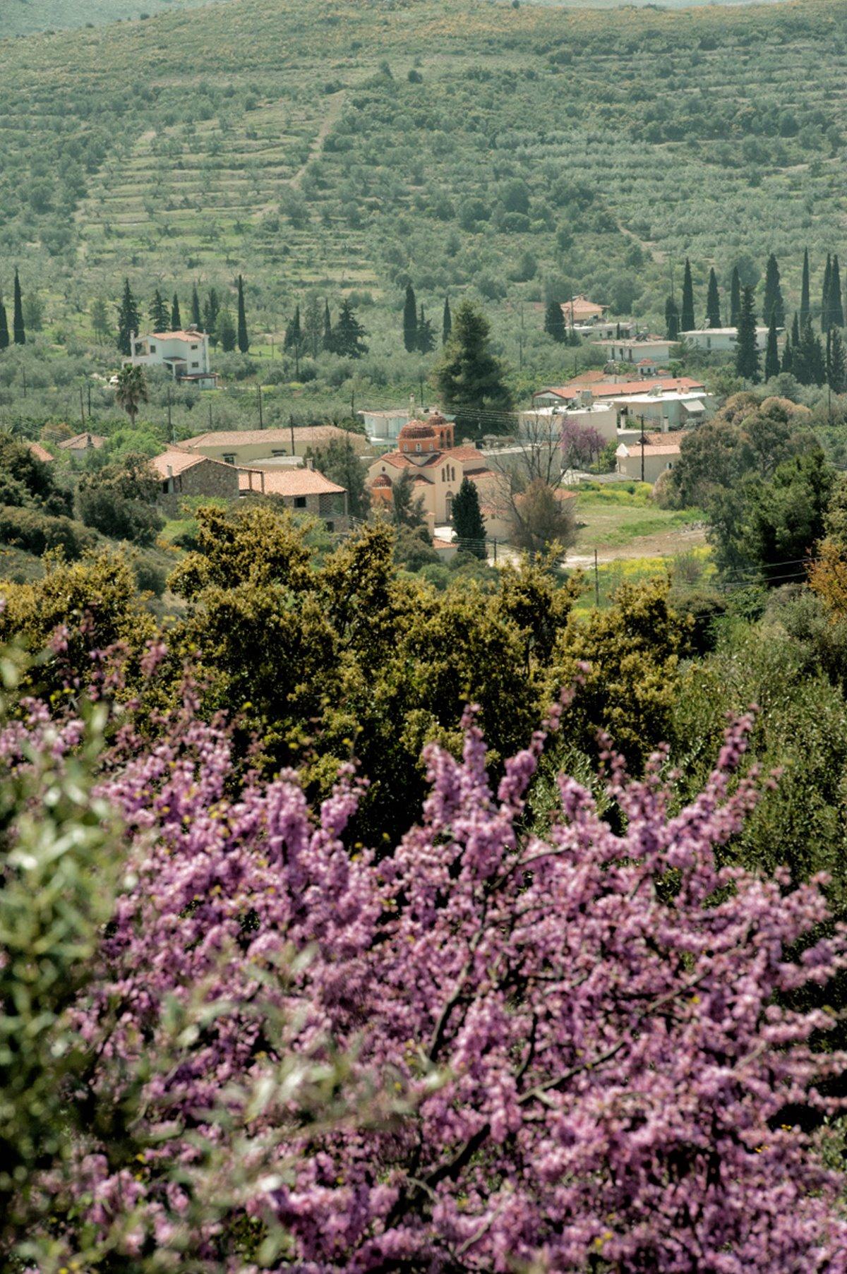 χωριό Πυργιώτικα κοντά στην Αθήνα