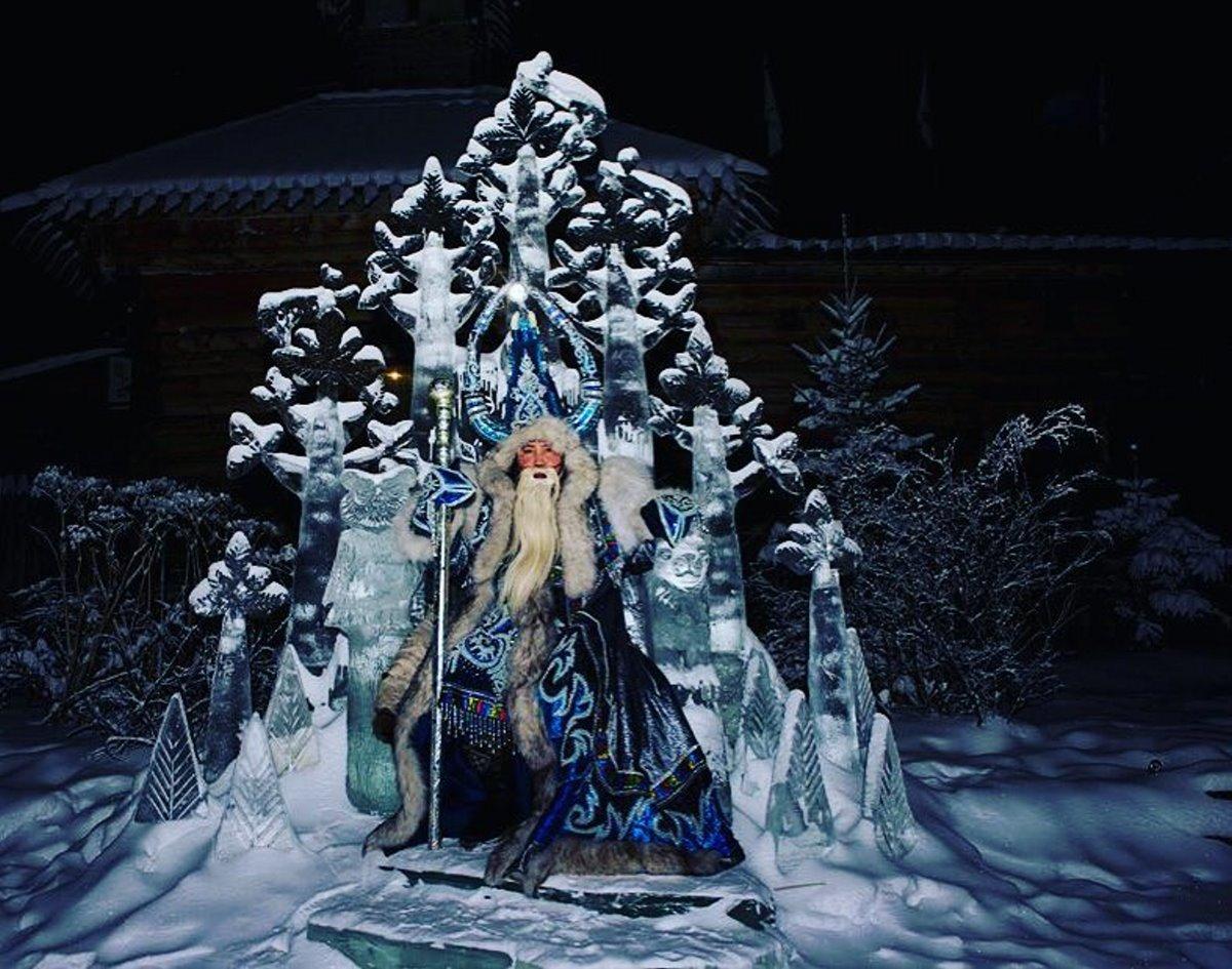 Χριστούγεννα 2021 στο Yakutsk άγιος Βασίλης