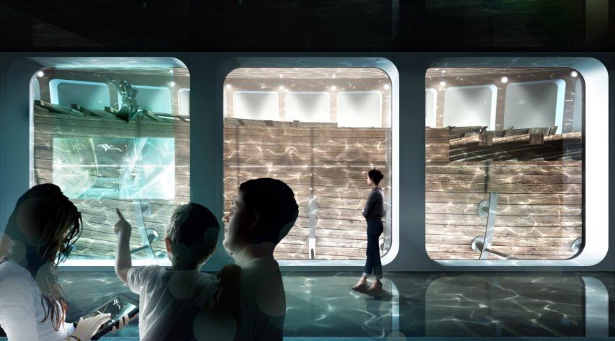 Υποβρύχιο Μουσείο Ολλανδία θέαση σε ναυάγιο