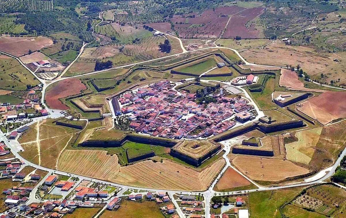 Almeida Πορτογαλία πόλη σε σχήμα αστεριού