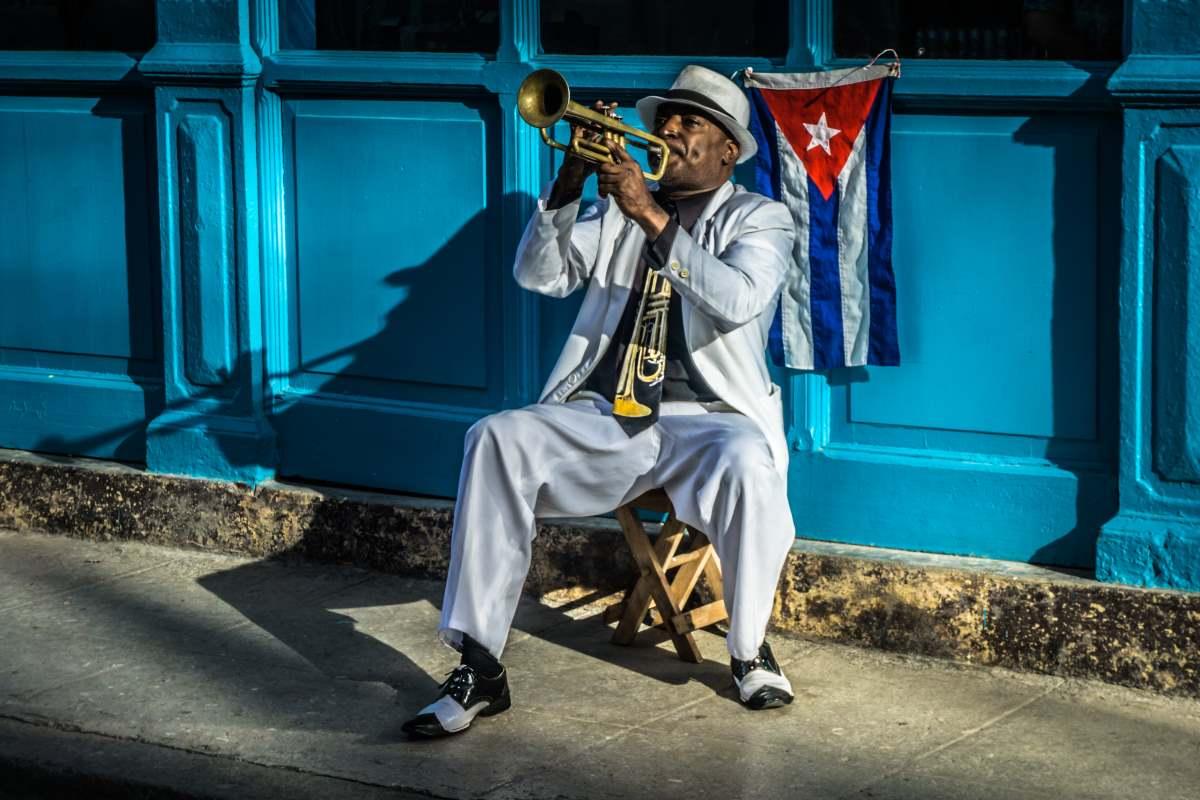 Κουβανός μουσικός στο δρόμο, Αβάνα