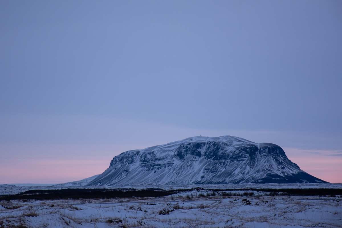 Ηφαίστειο Hekla, Ισλανδία