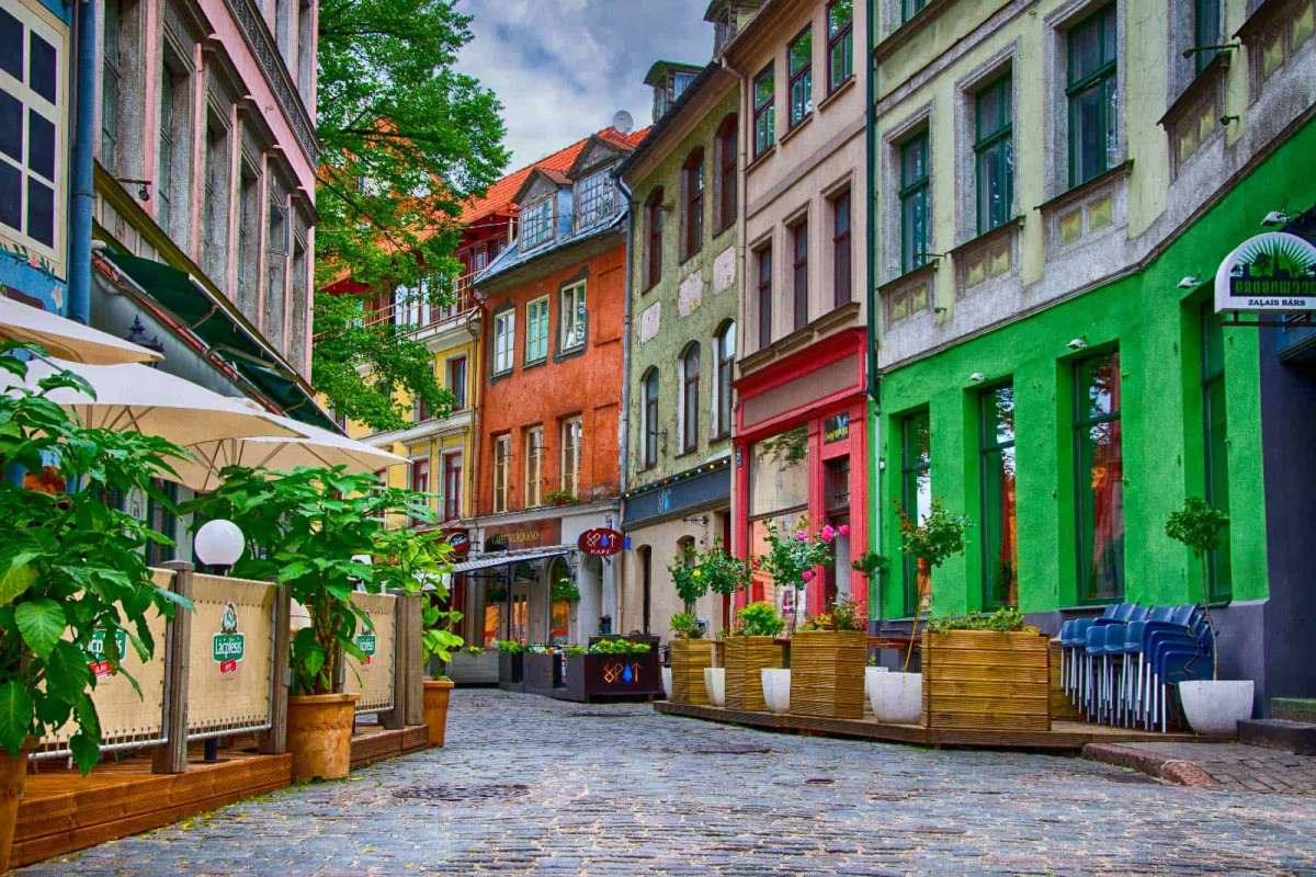 Παλιά Πόλη, Ρίγα, (Old town Riga)Λετονία