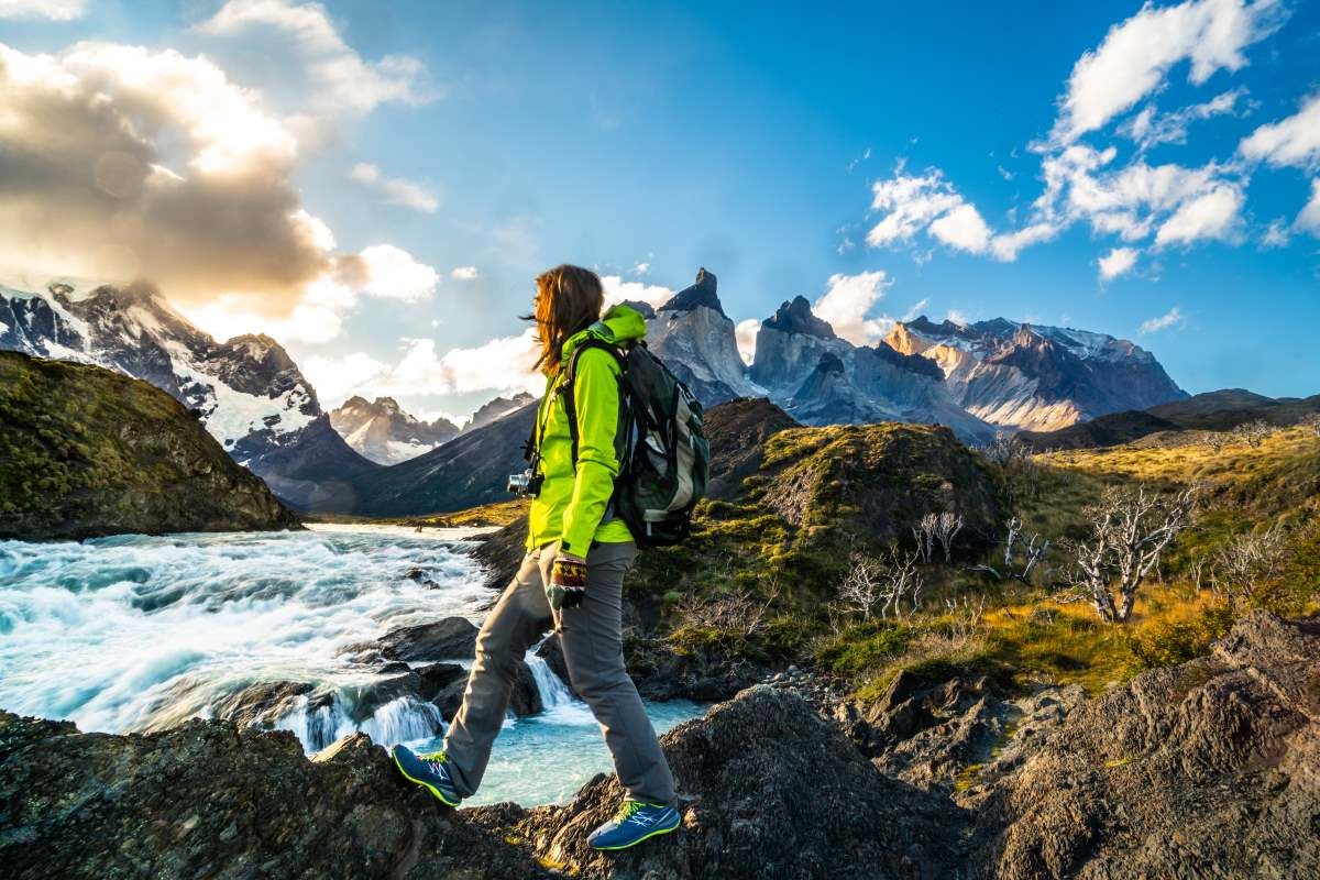 Ορεινό τοπίο του Εθνικού Πάρκου Torres del Paine, Παταγονία - Χιλή