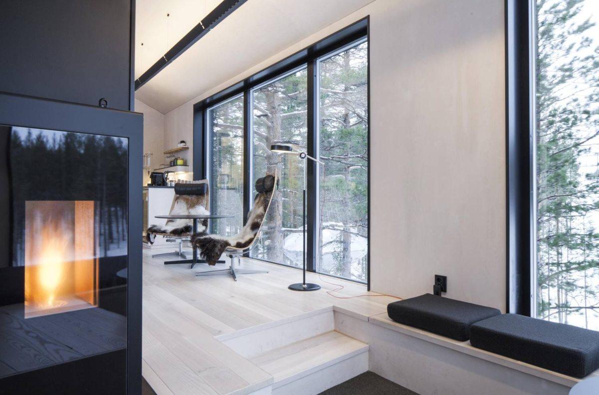 Treehotel, Σουηδία, δωμάτιο