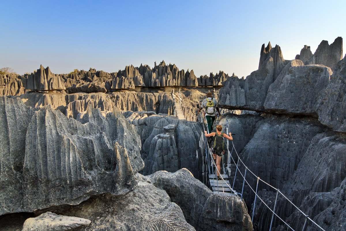Tsingy de Bemaraha, Μαδαγασκάρη