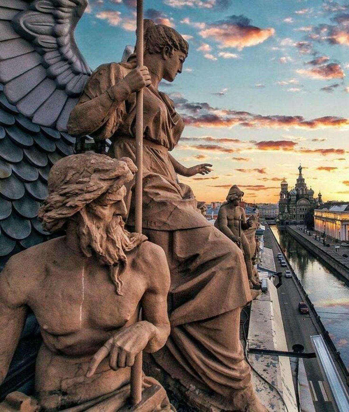 Αγία Πετρούπολη γλυπτά