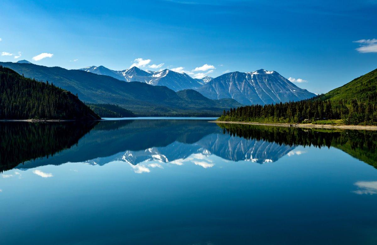 Λίμνες στην Αλάσκα