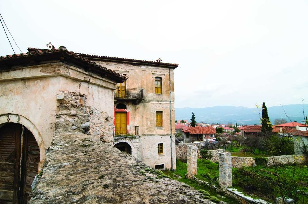 χωριά παρνασσού Αμφίκλεια