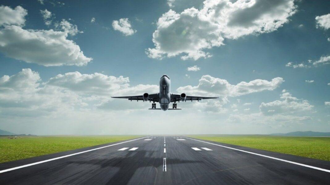Απογείωση αεροπλάνου Ελευθέριος Βενιζέλος