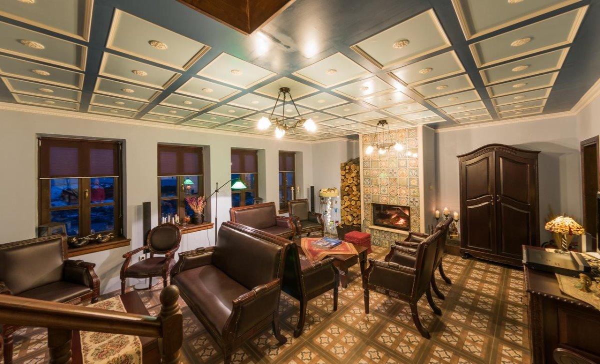Argyro Guesthouse Νυμφαίο καθιστικό ξενώνα