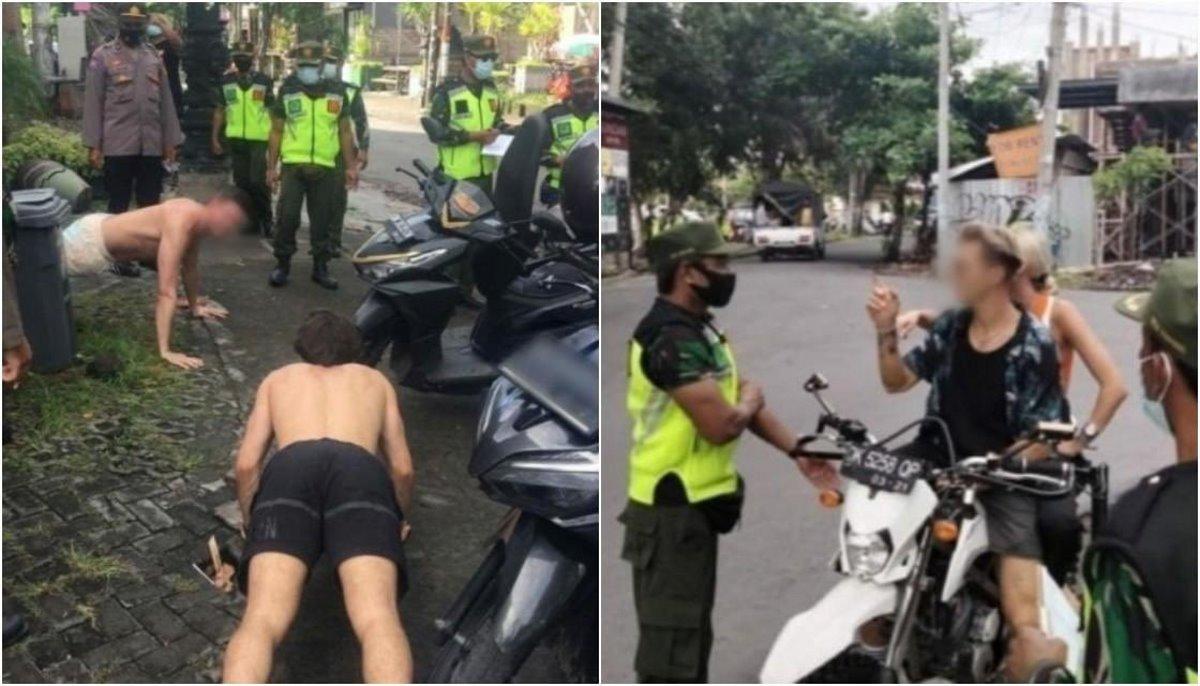 Ασυνήθιστη τιμωρία στο Μπαλί για όσους δεν φοράνε μάσκα