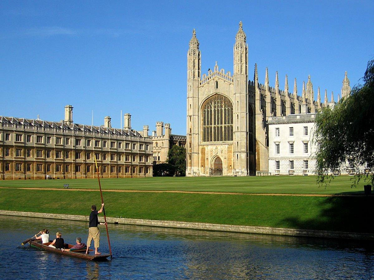 Πανεπιστήμιο του Κέιμπριτζ, Αγγλία