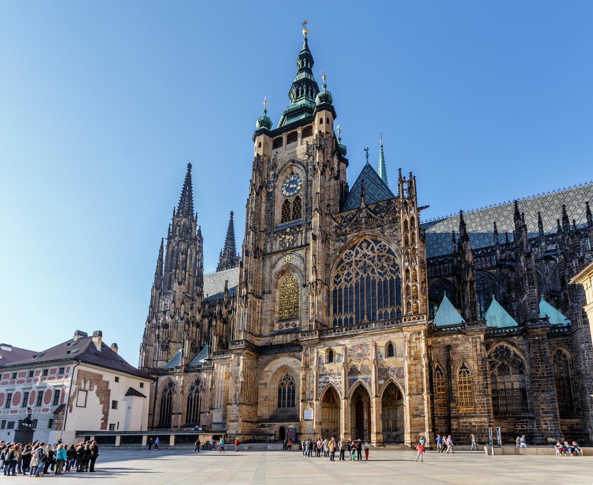 Ο Καθεδρικός του St. Vitus, Πράγα
