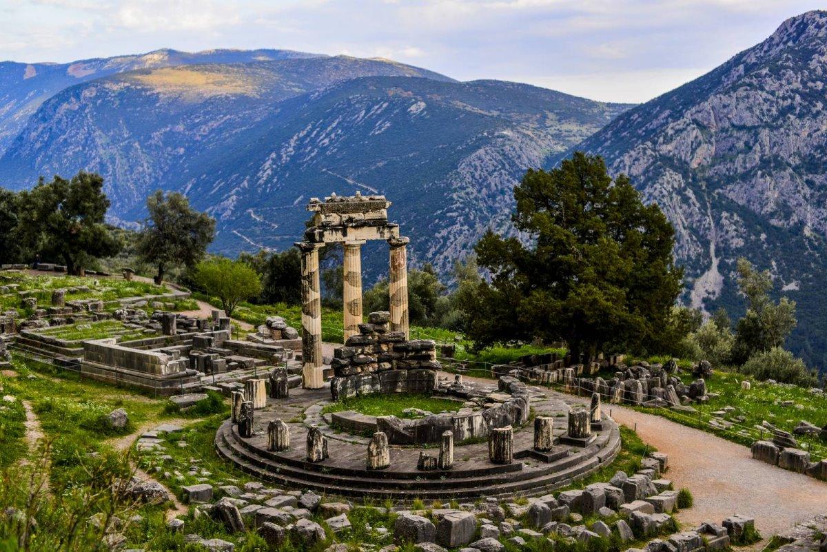 Δελφοί δημοφιλές σημείο για τουρίστες στη Ελλάδα