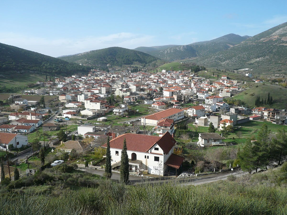 χωριά Παρνασσού Δίστομο